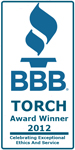 Woods Basement Systems, Inc. Receives 2012 St. Louis Better Business Bureau TORCH Award